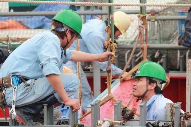 Đến nay hầu như các gói thầu đều kiểm soát được tiến độ và dự kiến tháng 4/2014 sẽ hợp long cầu chính và tiếp tục hoàn thiện các hạng mục còn lại để đến tháng 10/2014 sẽ thông xe toàn bộ cầu Nhật Tân.