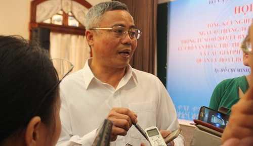 Ông Nguyễn Đăng Chương trả lời phỏng vấn nóng.