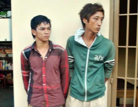 Nguyễn Minh Đức và Phạm Thành (phải)
