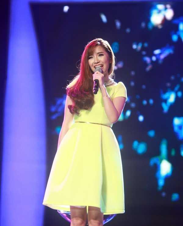 Bích Phương quay trở lại sân khấu Vietnam Idol