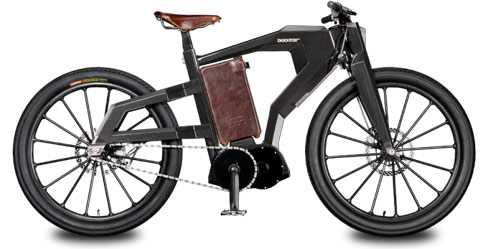 Blacktrail, dòng siêu môtô có kiểu dáng cổ điển.