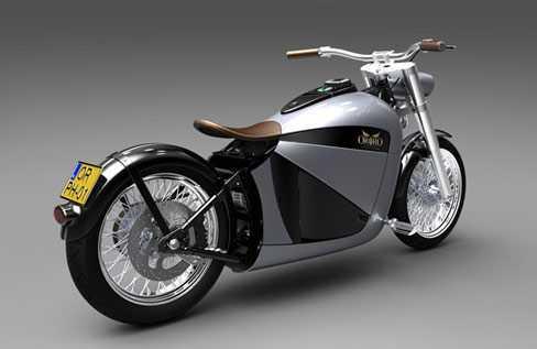 Orphiro Electric Motorcycle, mẫu siêu môtô đến từ Hà Lan.