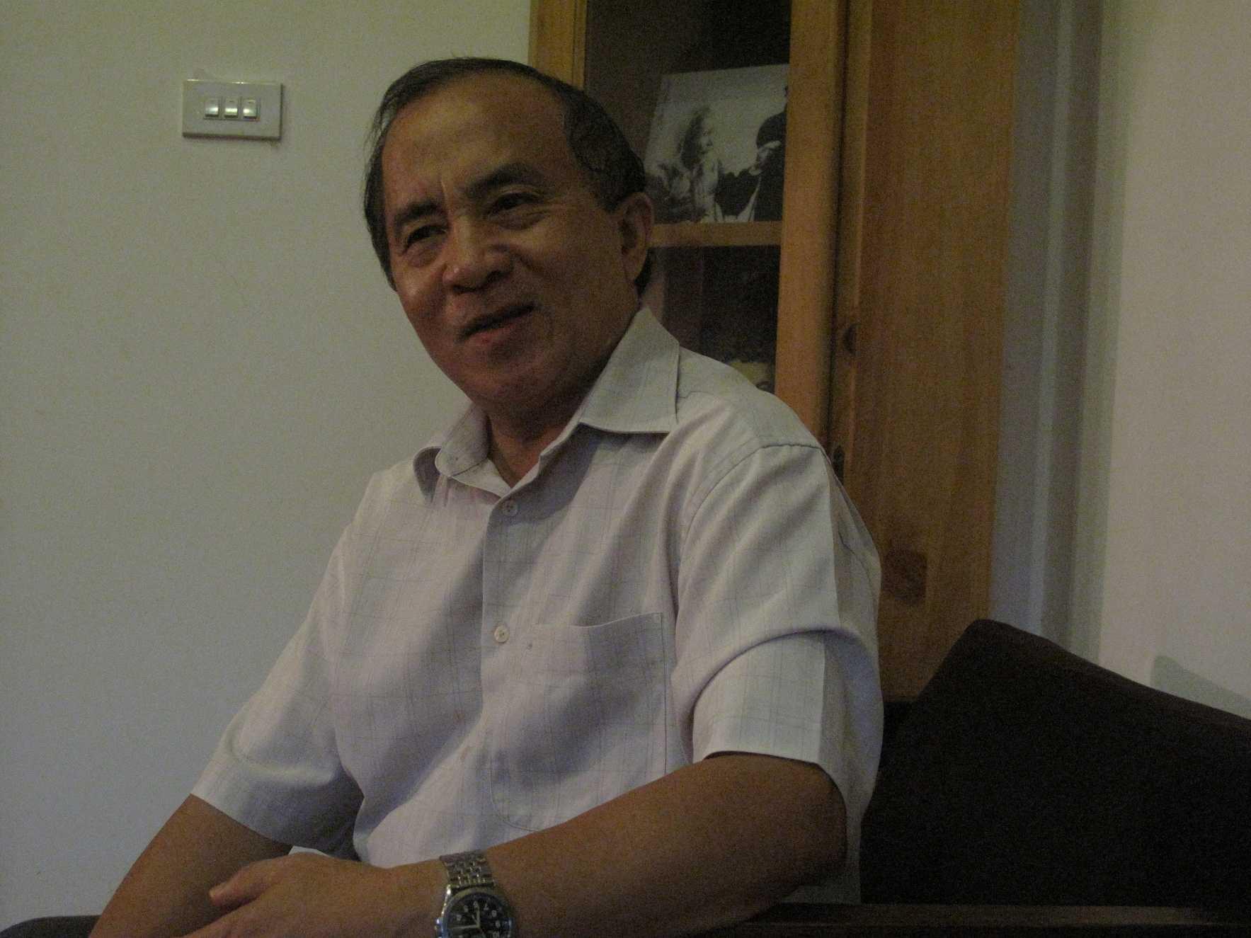 Tác giả cuốn Về vấn đề Biển Đông, Tiến sỹ Nguyễn Ngọc Trường