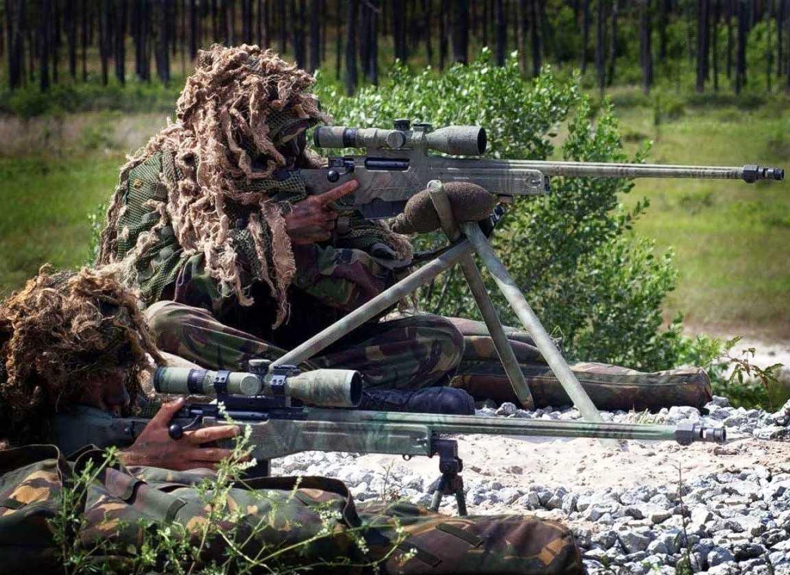 Các lính bắn tỉa quân đội Hoàng gia Anh và súng ngắm L115A3