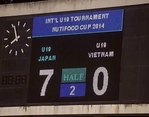 Những trận thua thảm thế này của U19 Việt Nam sẽ chấm dứt (Ảnh: Q.M)