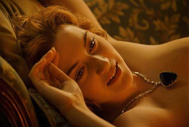 Hình ảnh Kate Winslet trong Titanic.