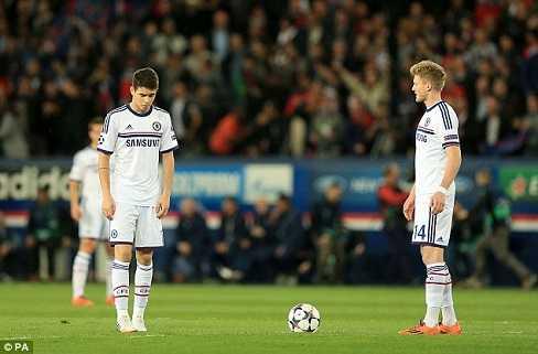 Oscar và Schurrle không thể hiện được nhiều ở trận này