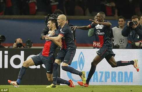 PSG đã tận dụng rất tốt lợi thế sân nhà