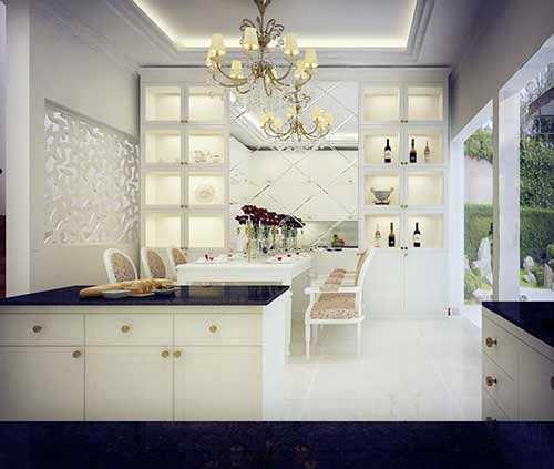 Diễm Hương bật mí về căn bếp trong ngôi nhà 30 tỷ sang trọng của người đẹp