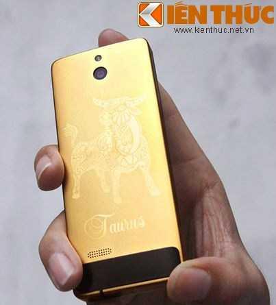 Mẫu Nokia 515 mạ vàng cung Kim Ngưu.