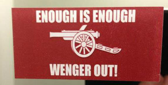 'Quá đủ rồi, cút đi Wenger'