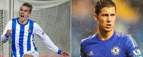 Griezmann sẽ thay thế hoàn hảo Hazard?