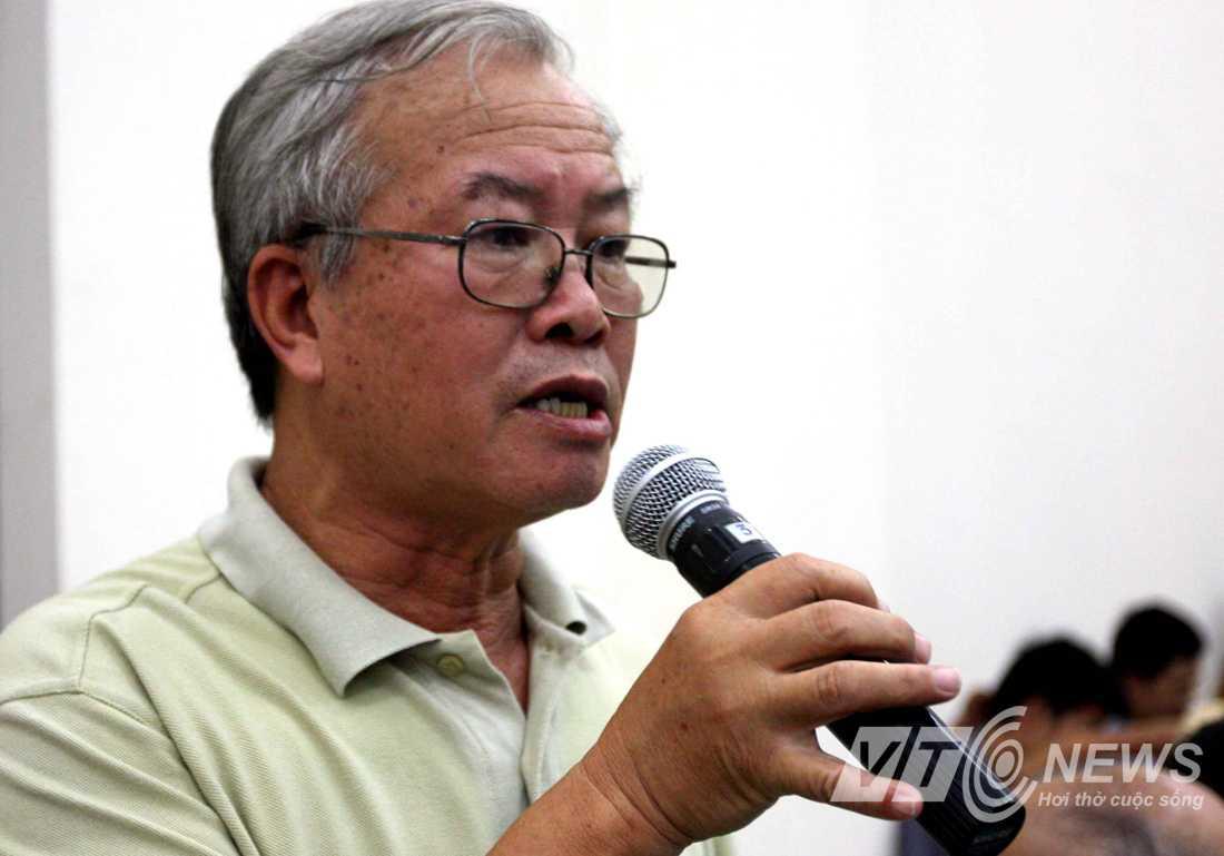 Chuyên gia Nguyễn Văn Vinh (Ảnh: Quang Minh)