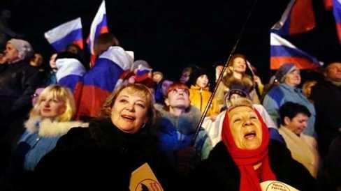 Đa số người Crưm ủng hộ sáp nhập Liên bang Nga