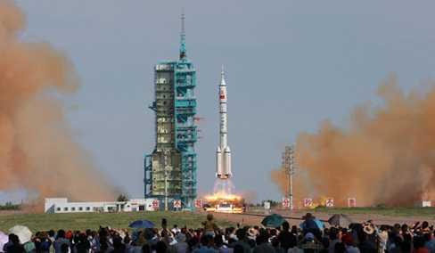 Trung Quốc phóng tên lửa lên không gian