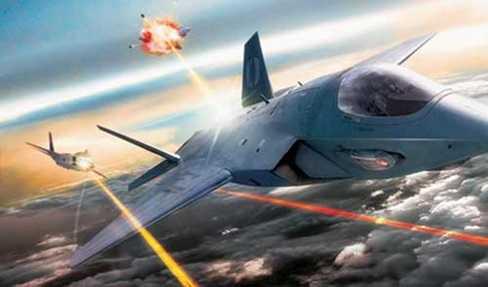 Vũ khí laser trong tương lai - Ảnh minh họa