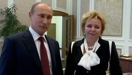 Vợ chồng Tổng thống Nga Putin trước khi chia tay