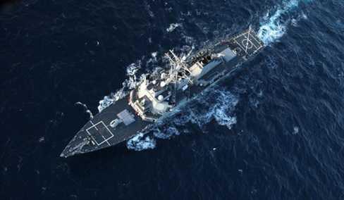 Chiến hạm Mỹ trên Biển Đen