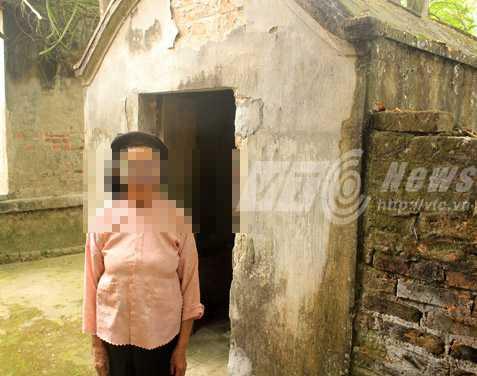 Bà T. dựng ngôi miếu này để thờ cúng trinh nữ mà bà gặp trong giấc mơ