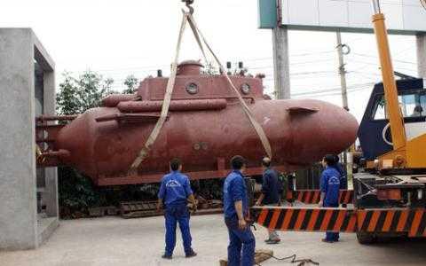 Tàu ngầm Trường Sa của kỹ sư người Thái Bình phần nào thỏa ước nguyện của các kỹ sư người Việt Nam