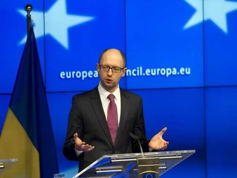 Thủ tướng tạm quyền Ukraine Arseniy Yatsenyuk