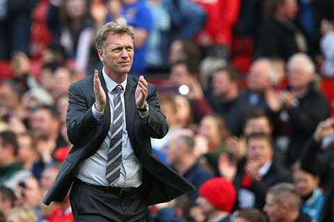 David Moyes có quá nhiều thành tích buồn với Man Utd