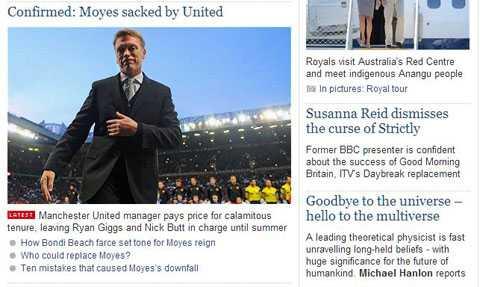 Telegraph cho biết Giggs và Butt sẽ nắm Man Utd đến hết mùa