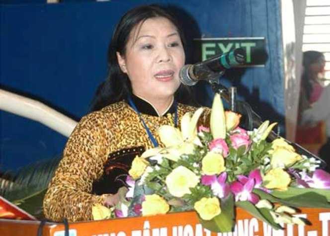 Bà Cao Thị Hải – Phó Chủ tịch Ủy ban Nhân dân tỉnh Thái Bình (Ảnh: Internet)