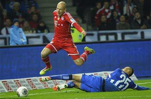 Và đừng quên Robben