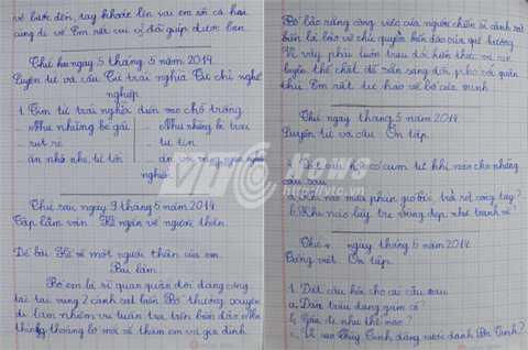 Bài văn ngắn đầy xúc động của bé Phương Uyên viết về bố của mình