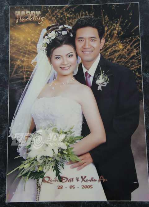 Ngày 28/5 của 9 năm về trước là ngày cưới của chiến sỹ Cảnh sát biển Hoàng Quốc Đạt và chị Lê Thị Xuân An
