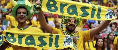 Người Brazil đặt nhiều hy vọng ở World Cup 2014.