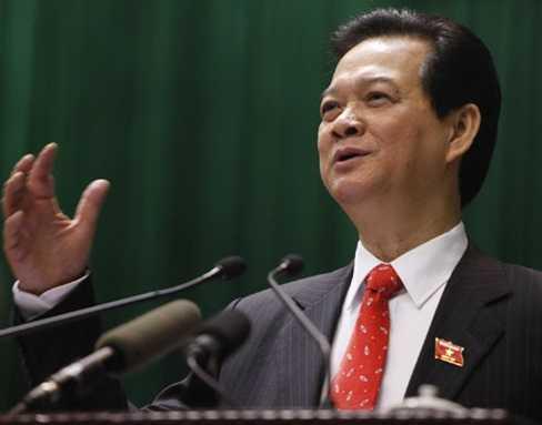 Báo chí thế giới đánh giá cao bài phát biểu đanh thép của Thủ tướng Nguyễn Tấn Dũng - Ảnh: Tuổi Trẻ
