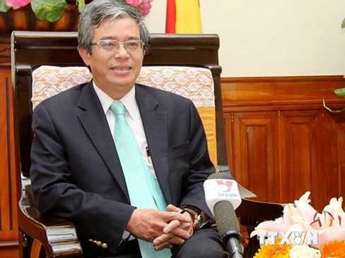 Thứ trưởng Bộ Ngoại giao Phạm Quang Vinh. (Ảnh: An Đăng/TTXVN)