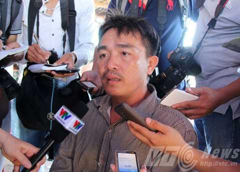 Thuyền trưởng tàu ĐNa 90152 Đặng Văn Nhân (SN 1973, trú Thanh Khê, Đà Nẵng) kể lại giây phút bị tàu Trung Quốc tấn công