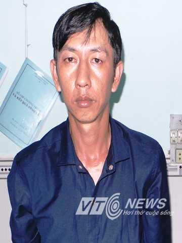 Hung thủ TrươngVăn Huệ tại cơ quan điều tra