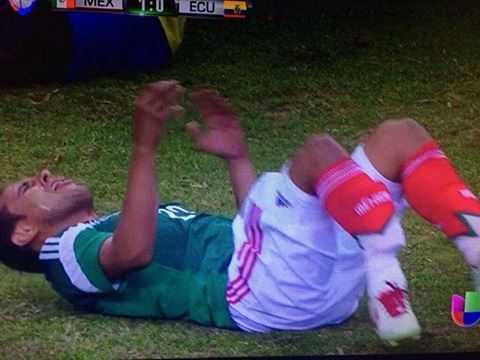 Chấn thương kinh hoàng của Luis Montes