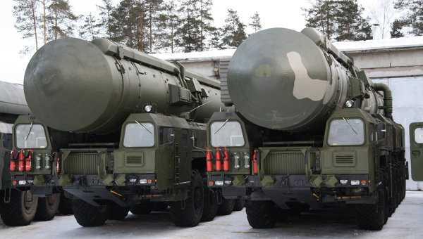 Hệ thống tên lửa đạn đạo liên lục địa di động Yars của Nga