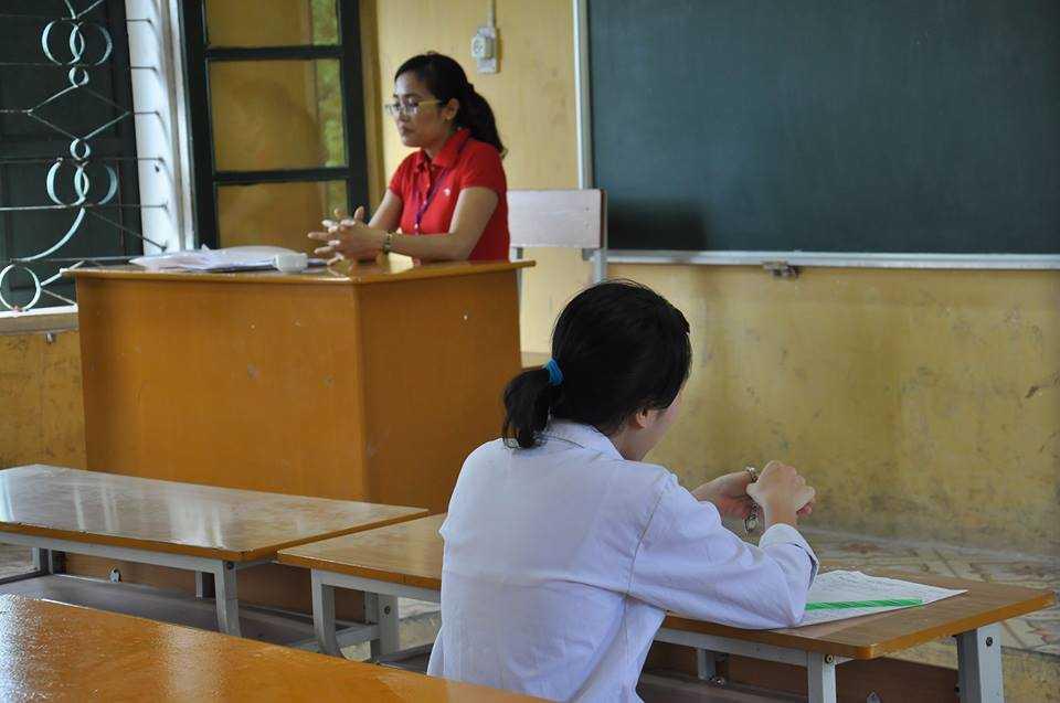 Tại hội đồng thi trường THPT Quang Trung (Hà Nội) chỉ có 1 thí sinh đăng ký thi môn Sử