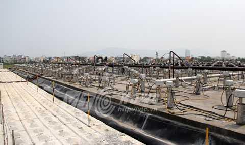 Quy trình xử lý dioxin trong đất tại Sân bay Đà Nẵng được kiểm soát nghiêm ngặt