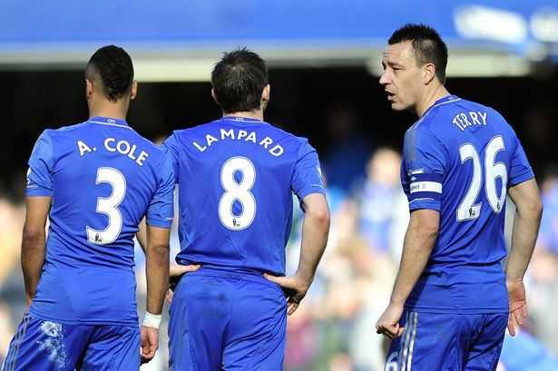 Frank Lampard, Ashley Cole, John Terry không còn chỗ ở Stamford Bridge
