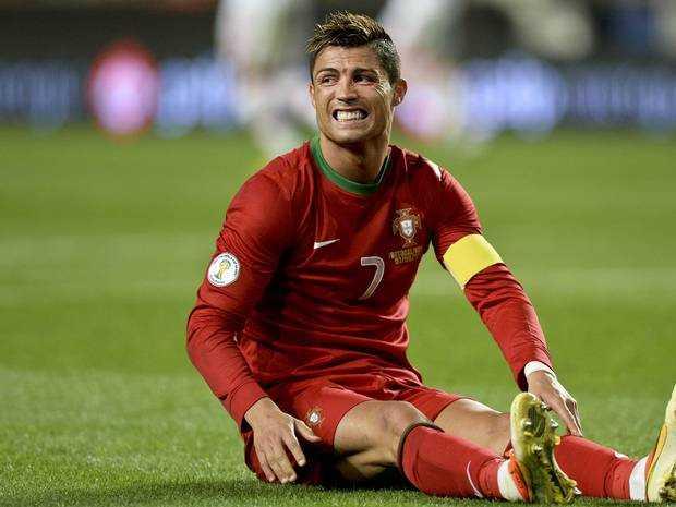 Ronaldo đang gặp phải chấn thương nghiêm trọng