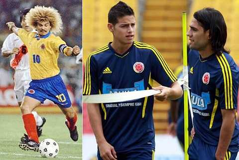 Sau Valderrama, bóng đá Colombia đã có những niềm hi vọng mới