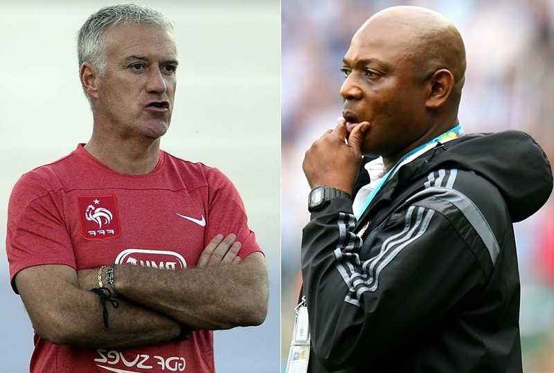 HLV Didier Deschamps và Stephan Keshi