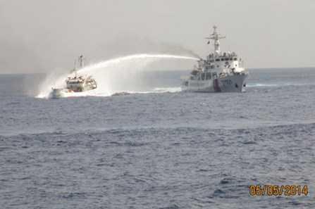 Trung Quốc liên tục có những hành động hung hăng, gây hấn với tàu thực thi pháp luật, tàu cá Việt Nam