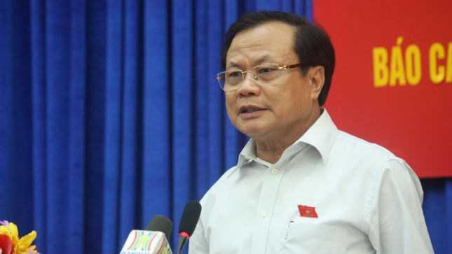 Bí thư Thành ủy Hà Nội Phạm Quang Nghị - Ảnh: Báo Pháp luật