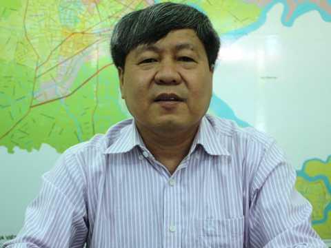ÔngNguyễn Ngọc Tường - Phó Ban chuyên trách Ban ATGT TP.HCM
