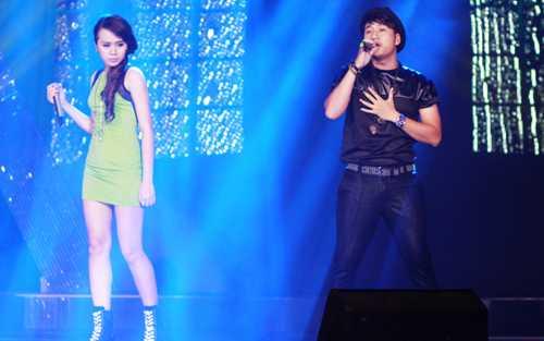 Huyền My, giọng hát yếu nhất Sao Mai điểm hẹn 2014 là người nhận được bình chọn nhiều nhất trong đêm gala 1.