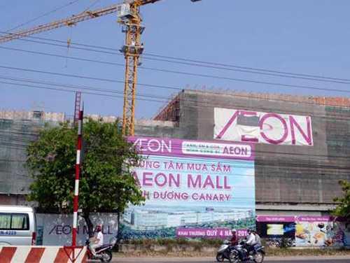 Nhà bán lẻ Nhật bản cũng đang ráo riết xây dựng các trung tâm kinh doanh