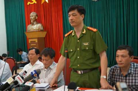 Đại tá Nguyễn Duy Ngọc - Phó Giám đốc Công an TP Hà Nội.